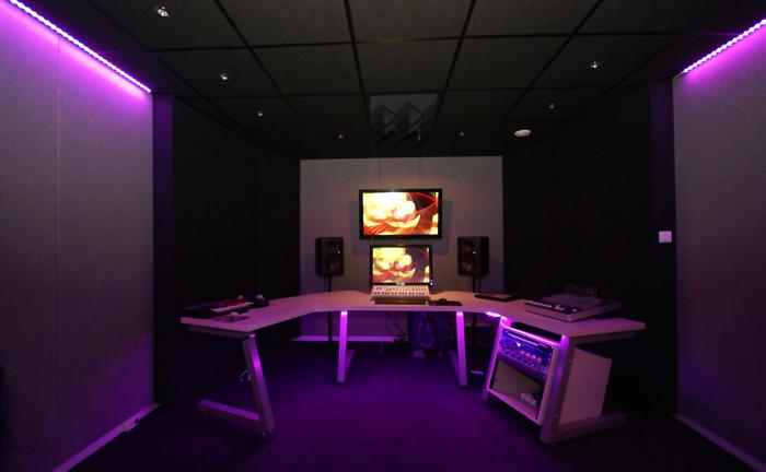 Geluidsdicht gordijn akoestische panelen studio - Studio meubels ...