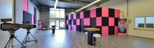 Studio bouwen Popschool