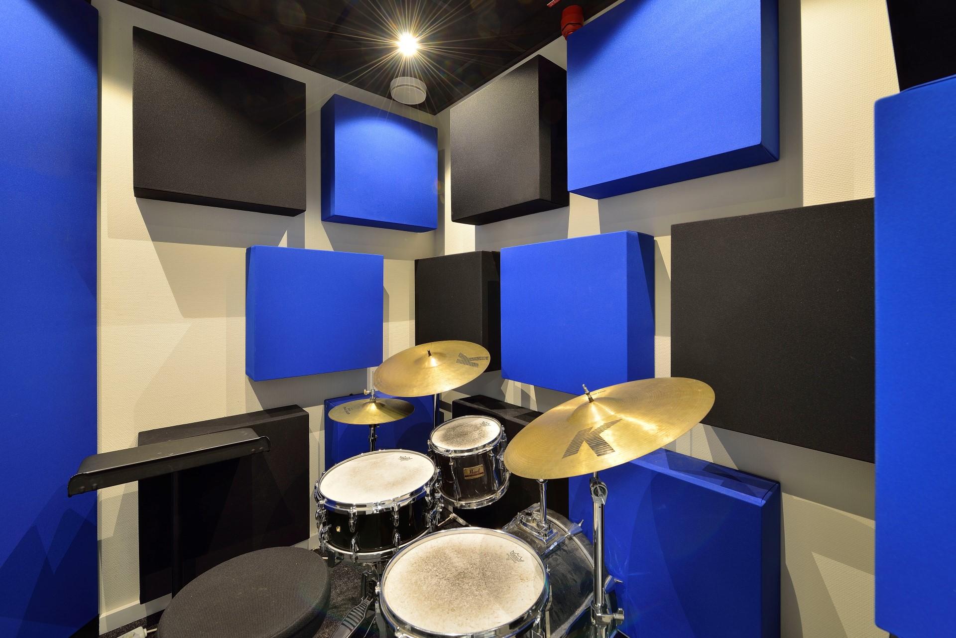 ArtEZ Conservatorium Arnhem drumcabine's
