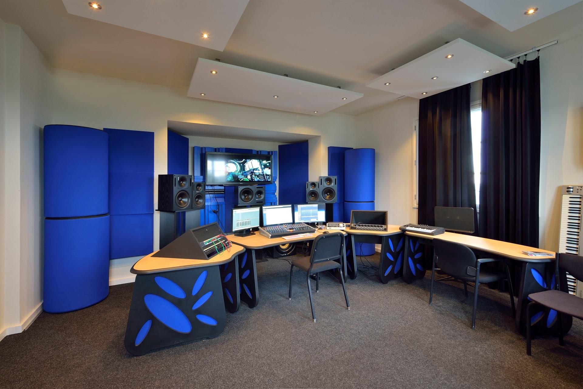 Conservatorium ArtEZ Arnhem studiobouw regieruimte en liveroom