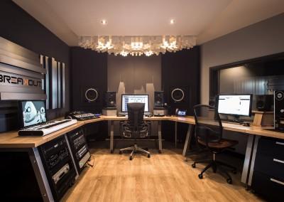 Breakout in Ranst, studiobouw België