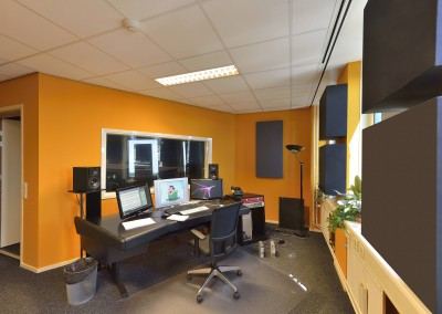 Upgrade oude studio's Creative Sounds Hilversum