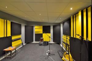 Studio bouwen de muziekgieterij