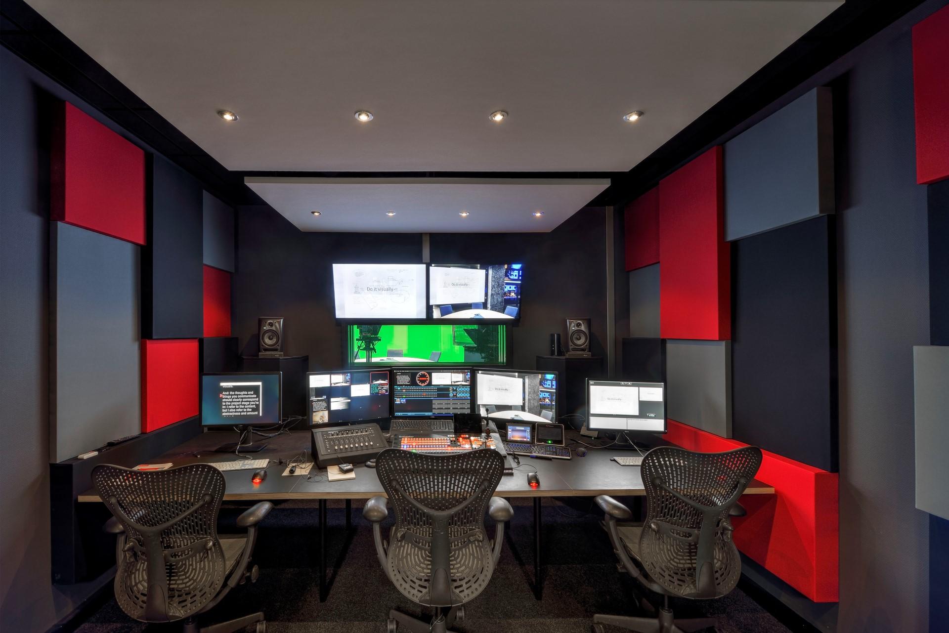 Nieuw studiocomplex TU Delft, NewMedia Centre